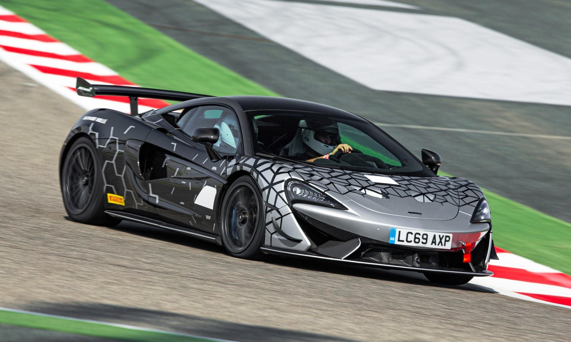McLaren 620R front action