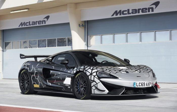 McLaren 620R front static