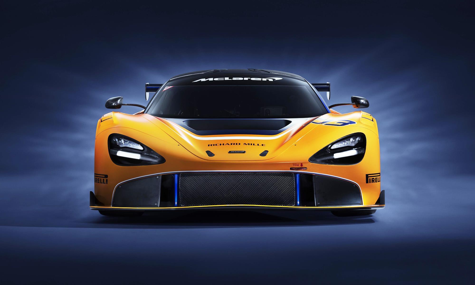 McLaren 720S GT3 front