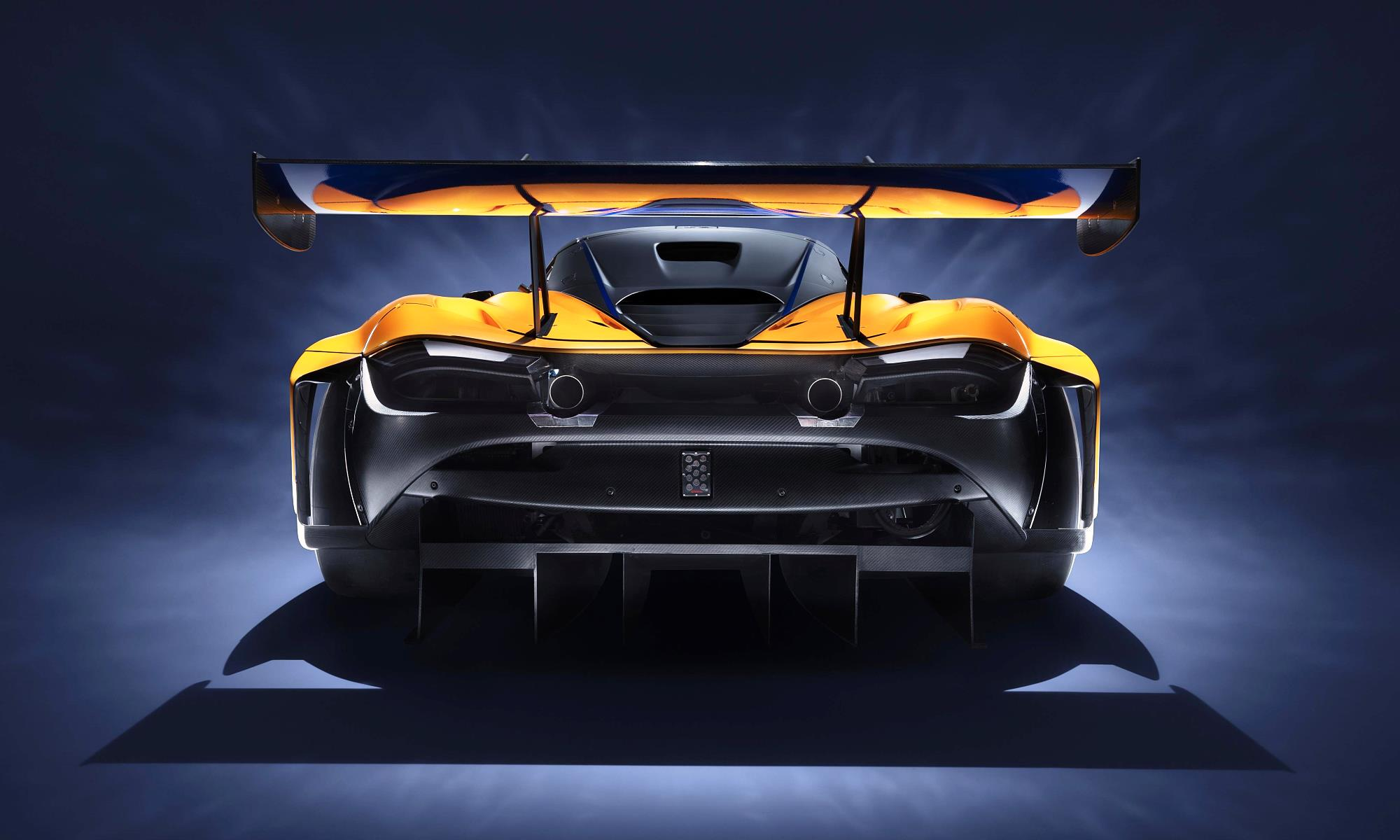 McLaren 720S GT3 rear wing