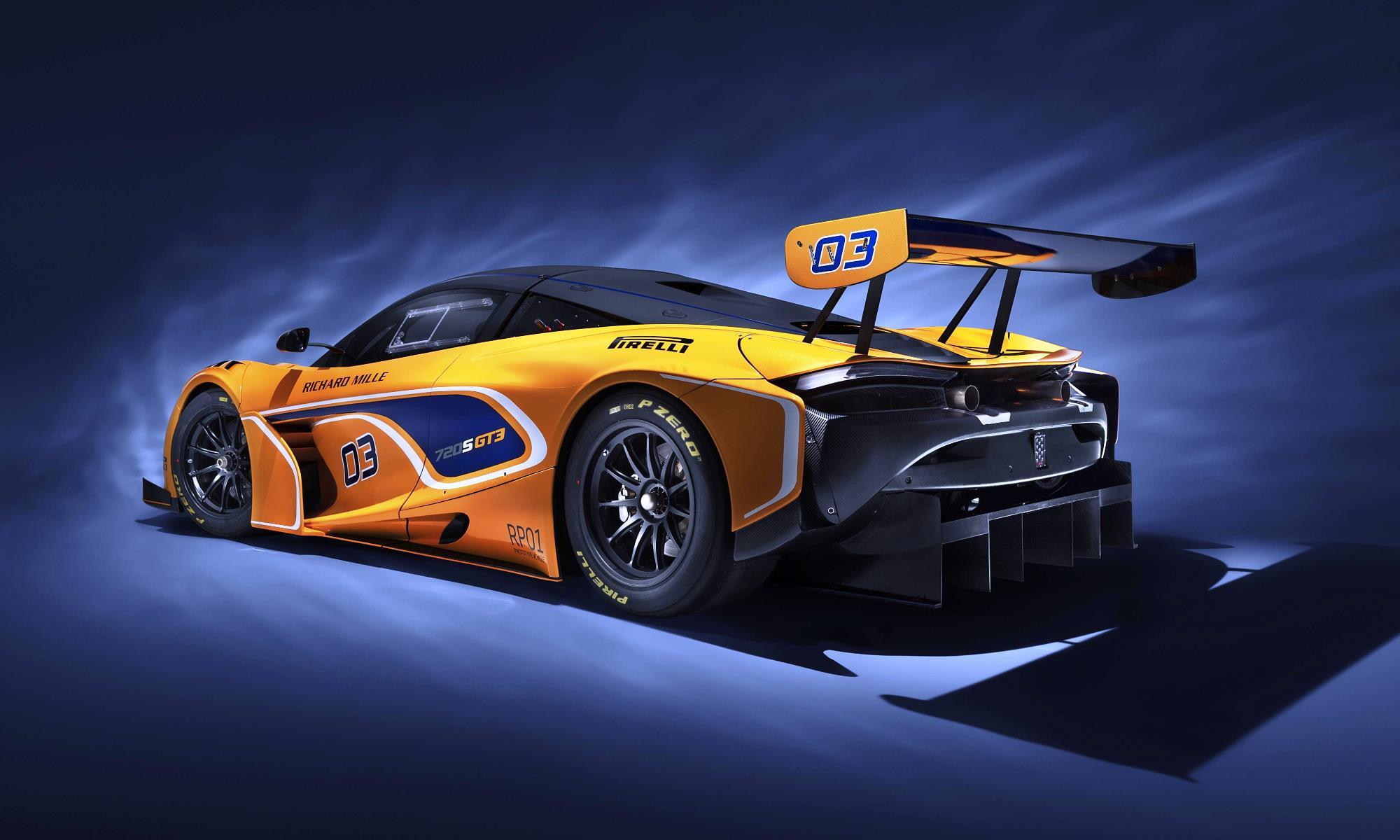 McLaren 720S GT3 rear