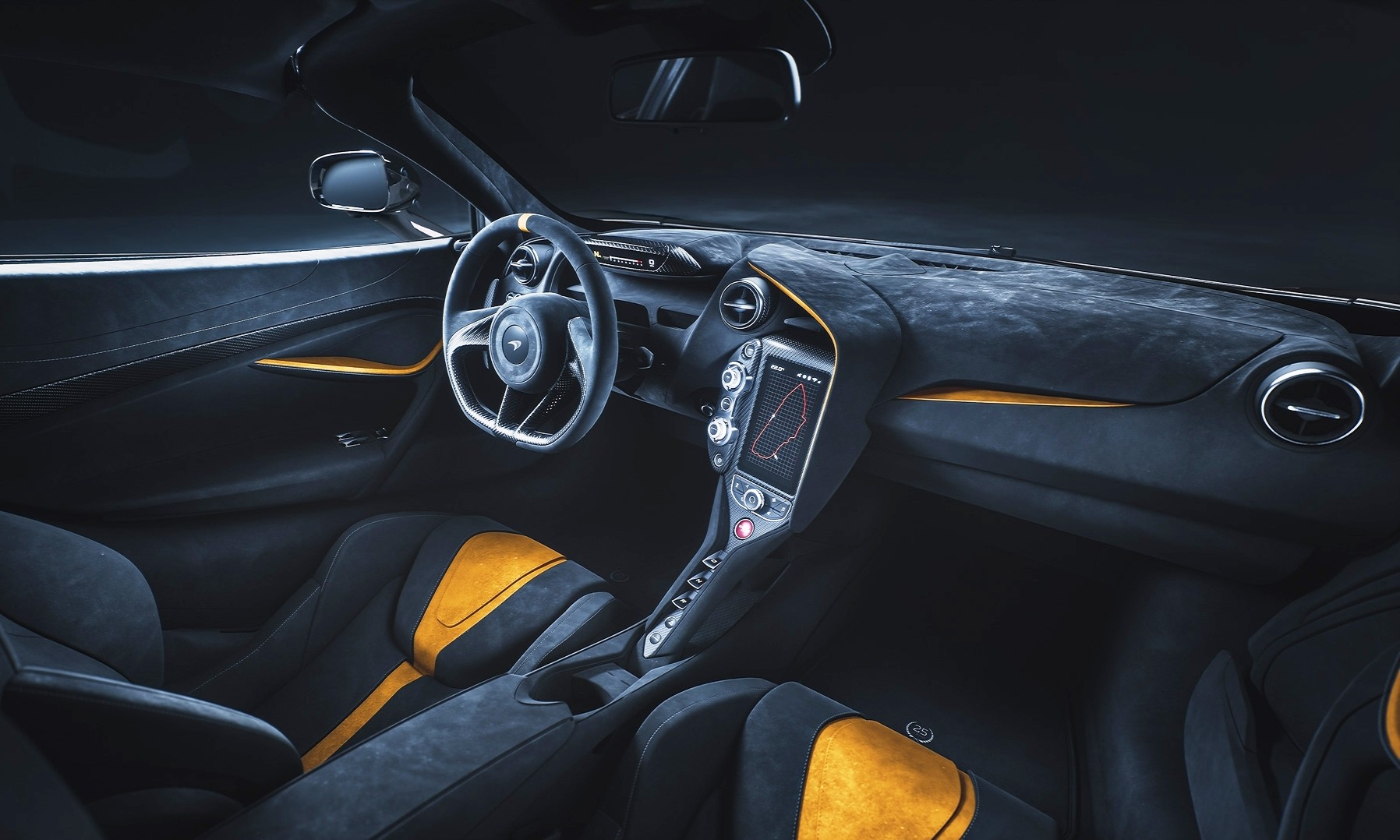 McLaren 720S Le Mans Edition interior
