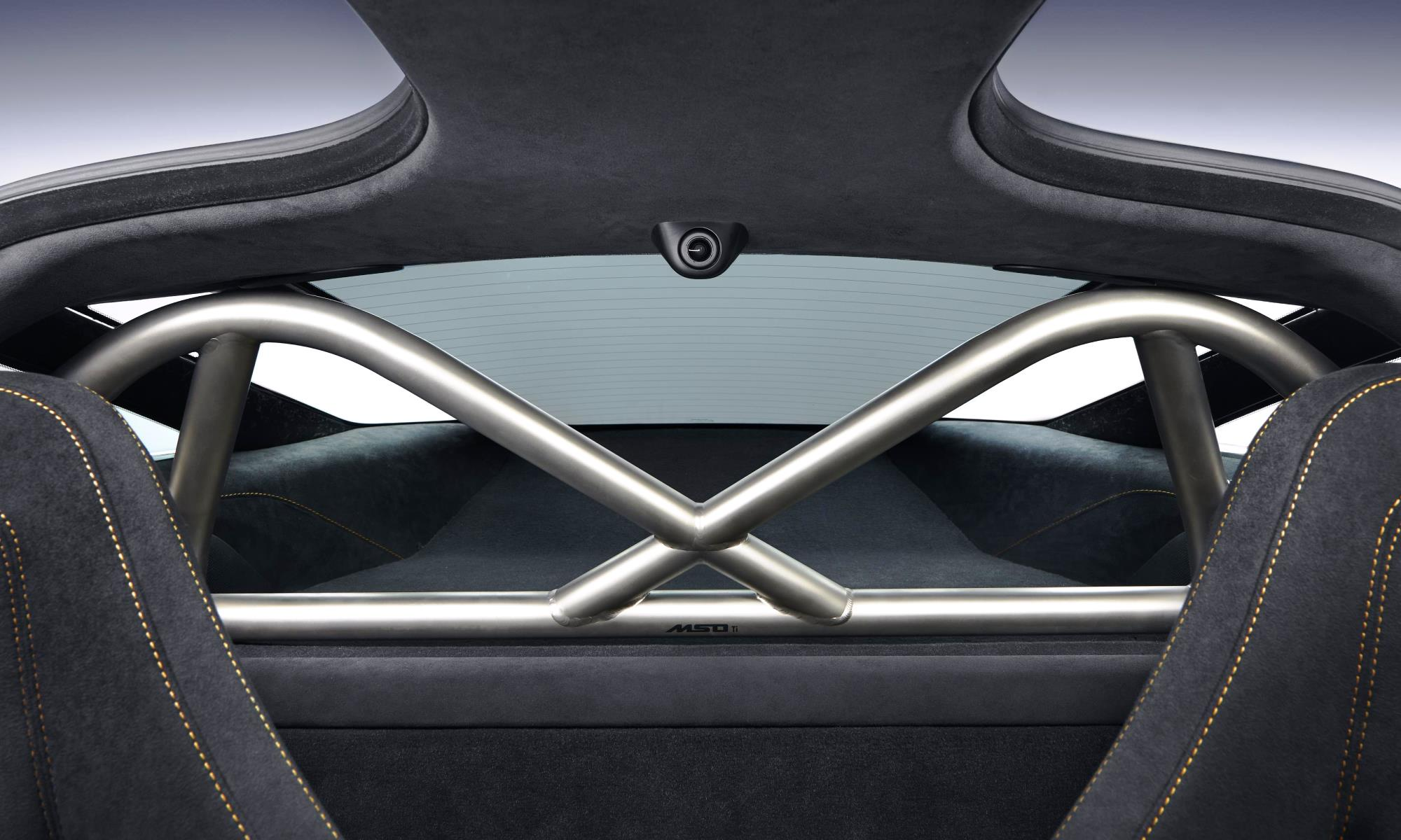 McLaren 720S Track Theme harness bar