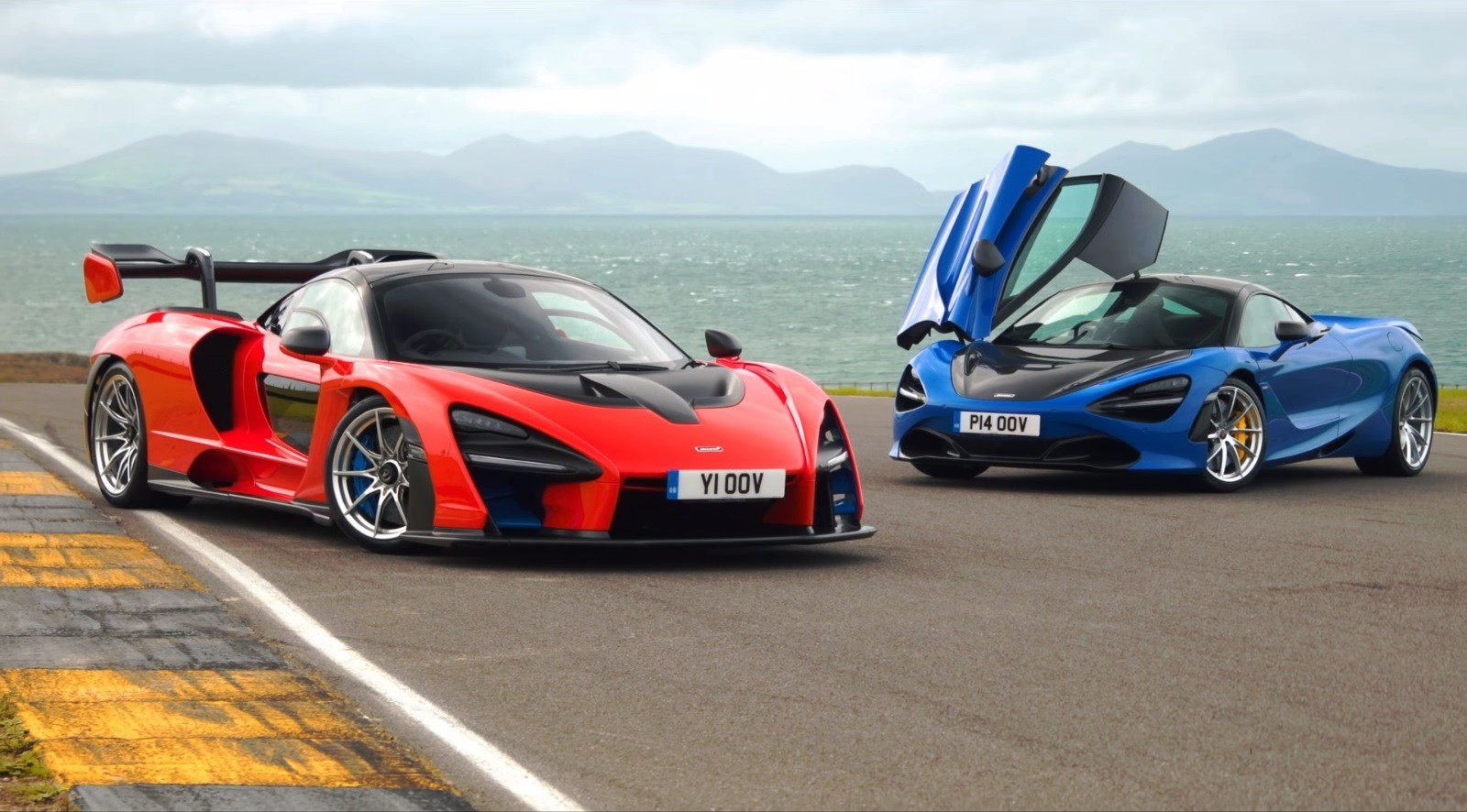 McLaren 720S vs McLaren Senna video