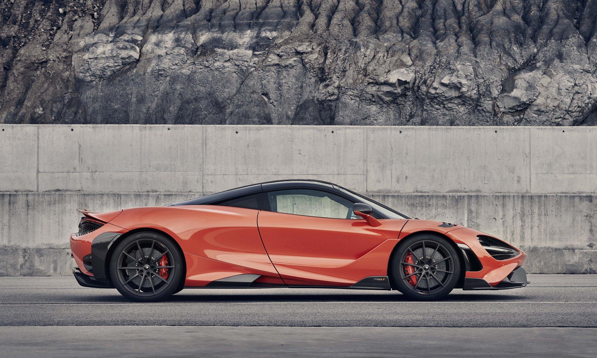 McLaren 765LT profile