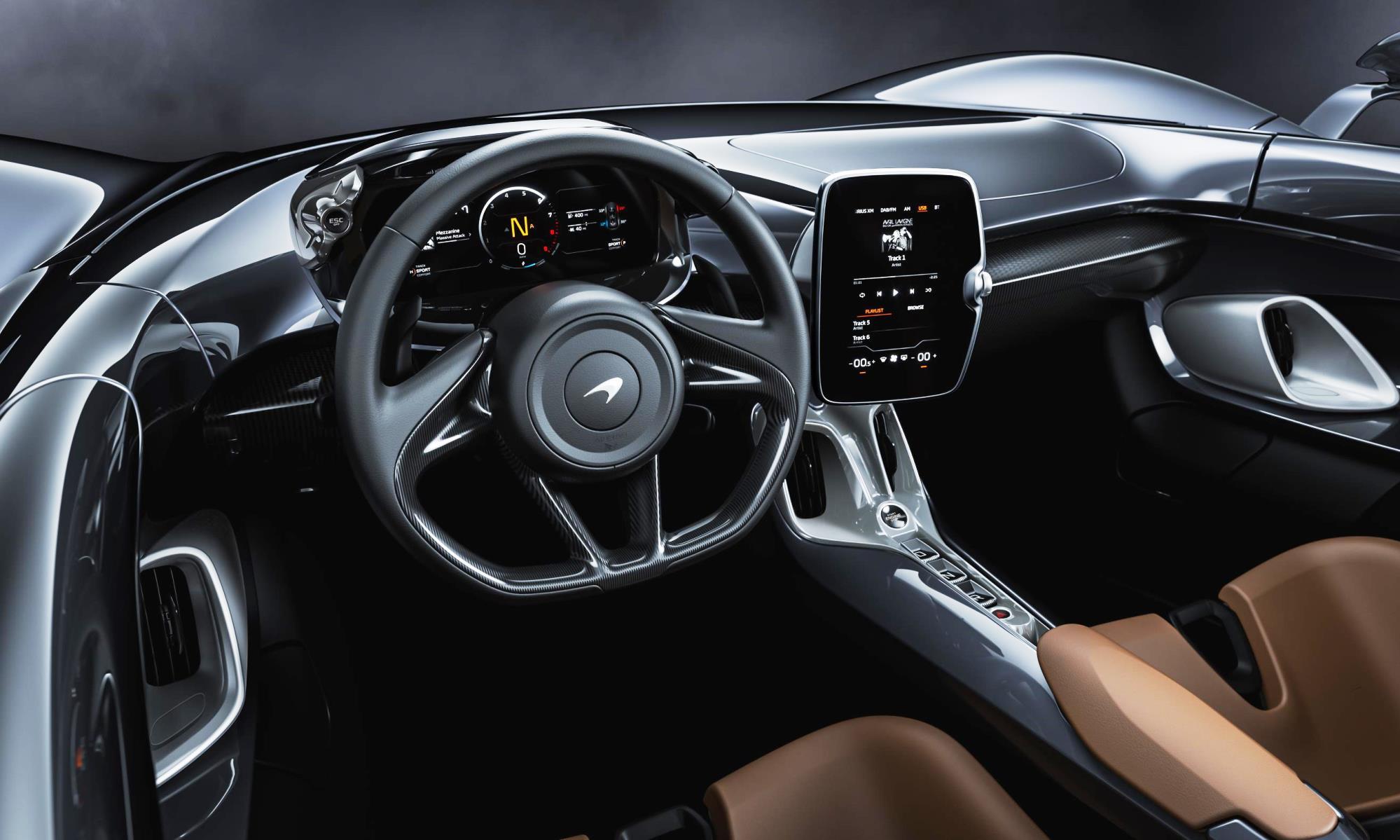 McLaren Elva cabin