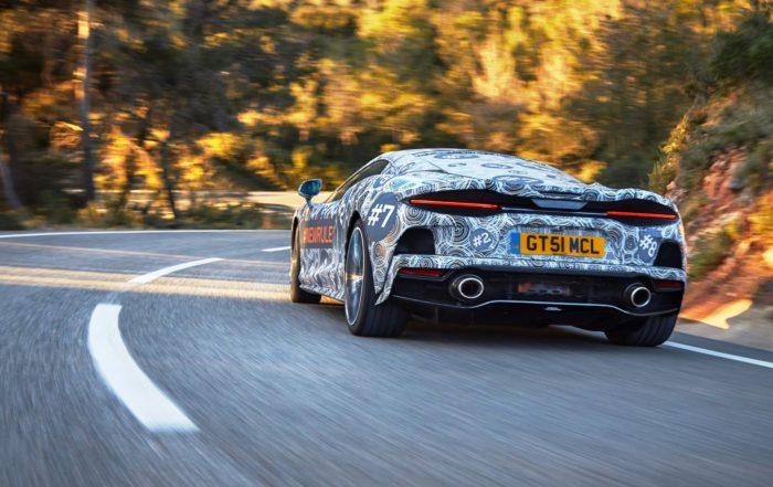 McLaren Grand Tourer rear