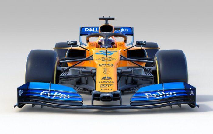 McLaren MCL34 front