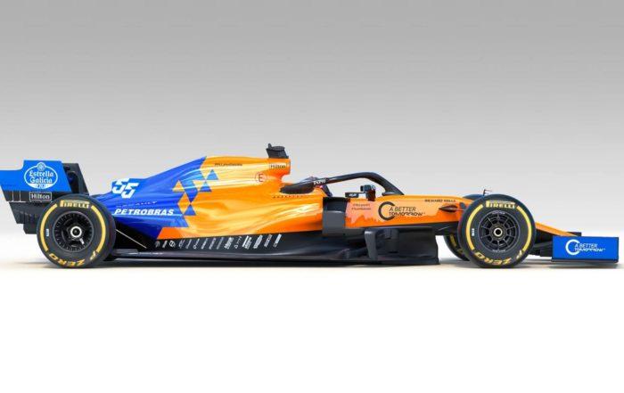 McLaren MCL34 profile