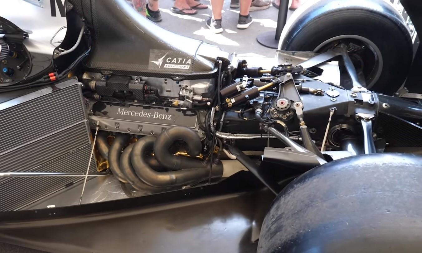 McLaren MP4/15 Engine Tech