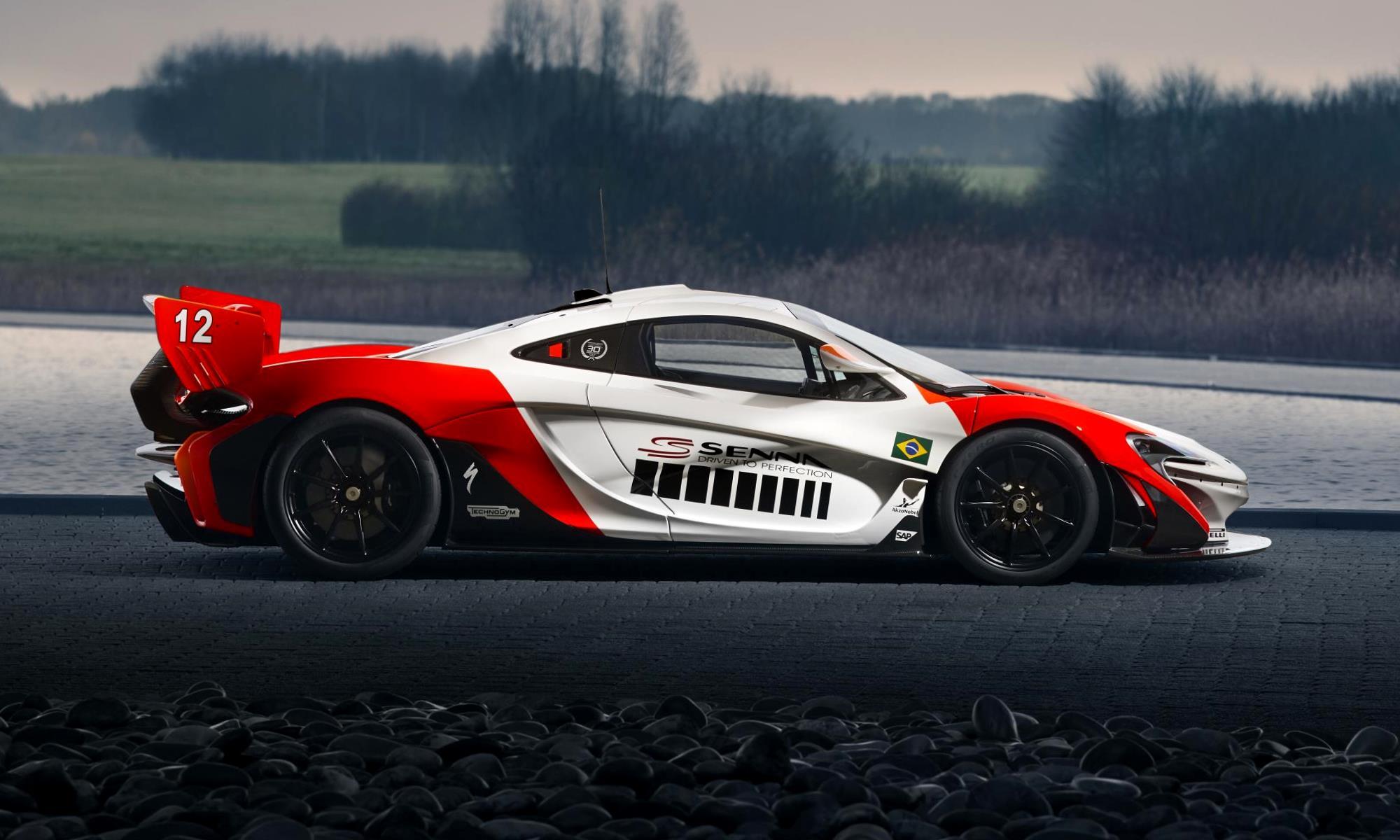 McLaren P1 GTR Beco profile