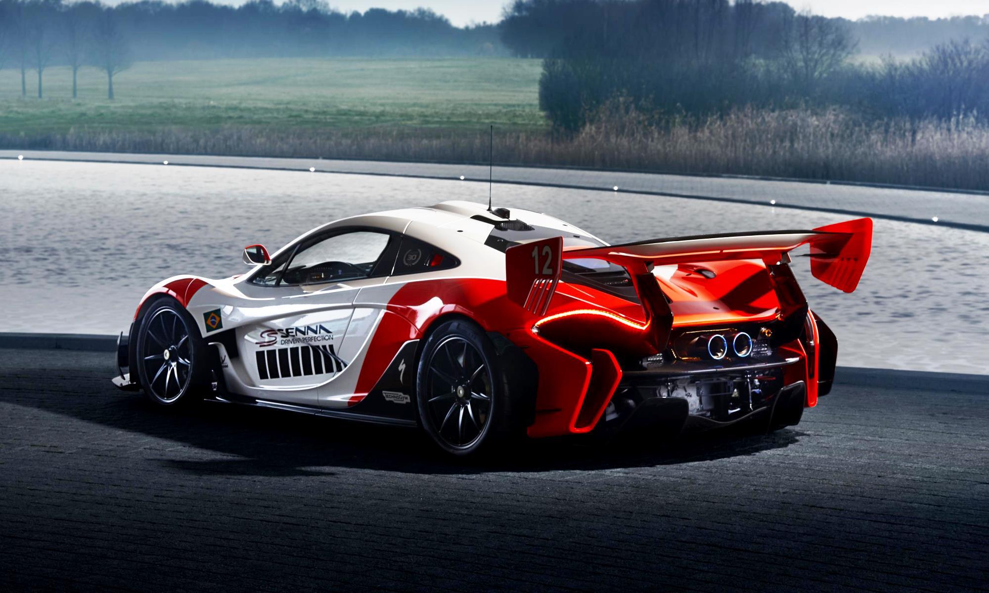 McLaren P1 GTR Beco rear