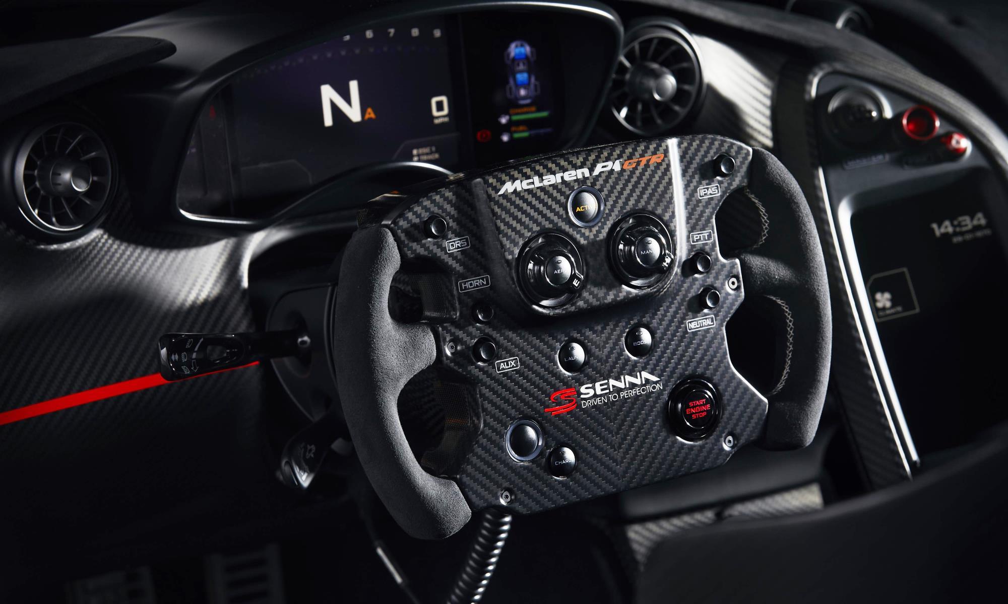 McLaren P1 GTR Beco steering