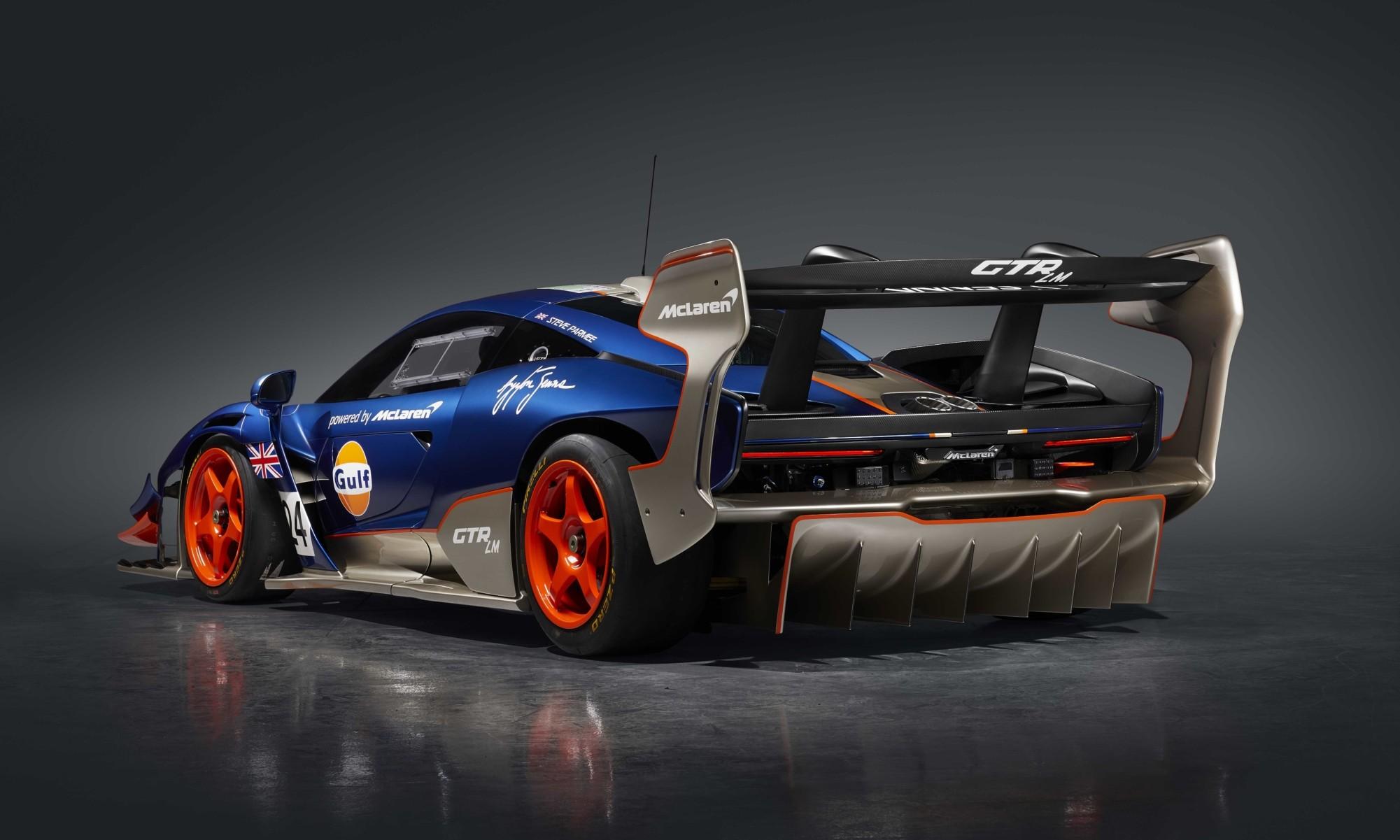 McLaren Senna GTR LMs