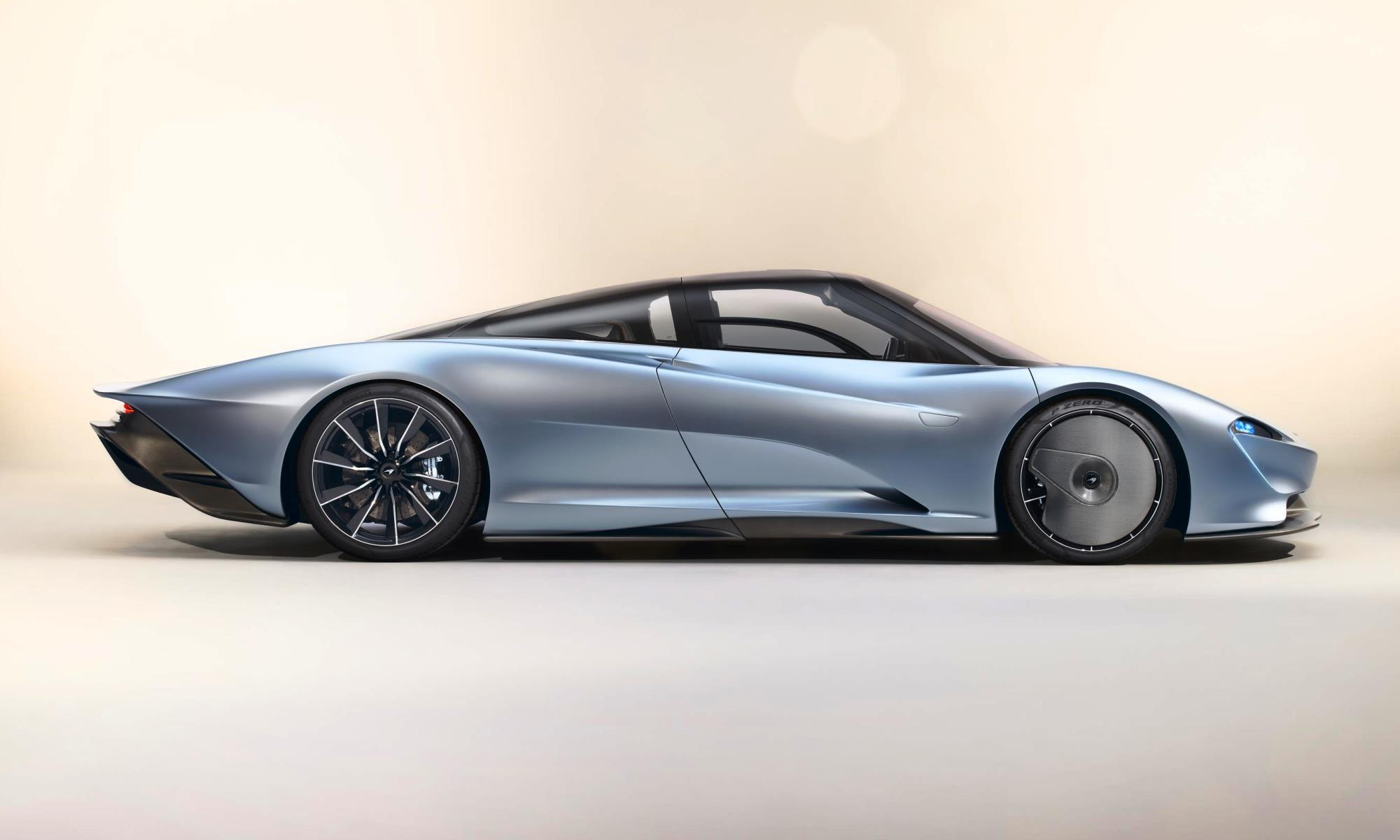 McLaren Speedtail hypercar profile