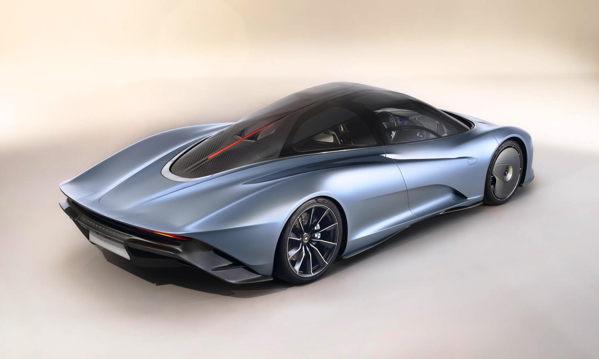 McLaren Speedtail hypercar rear