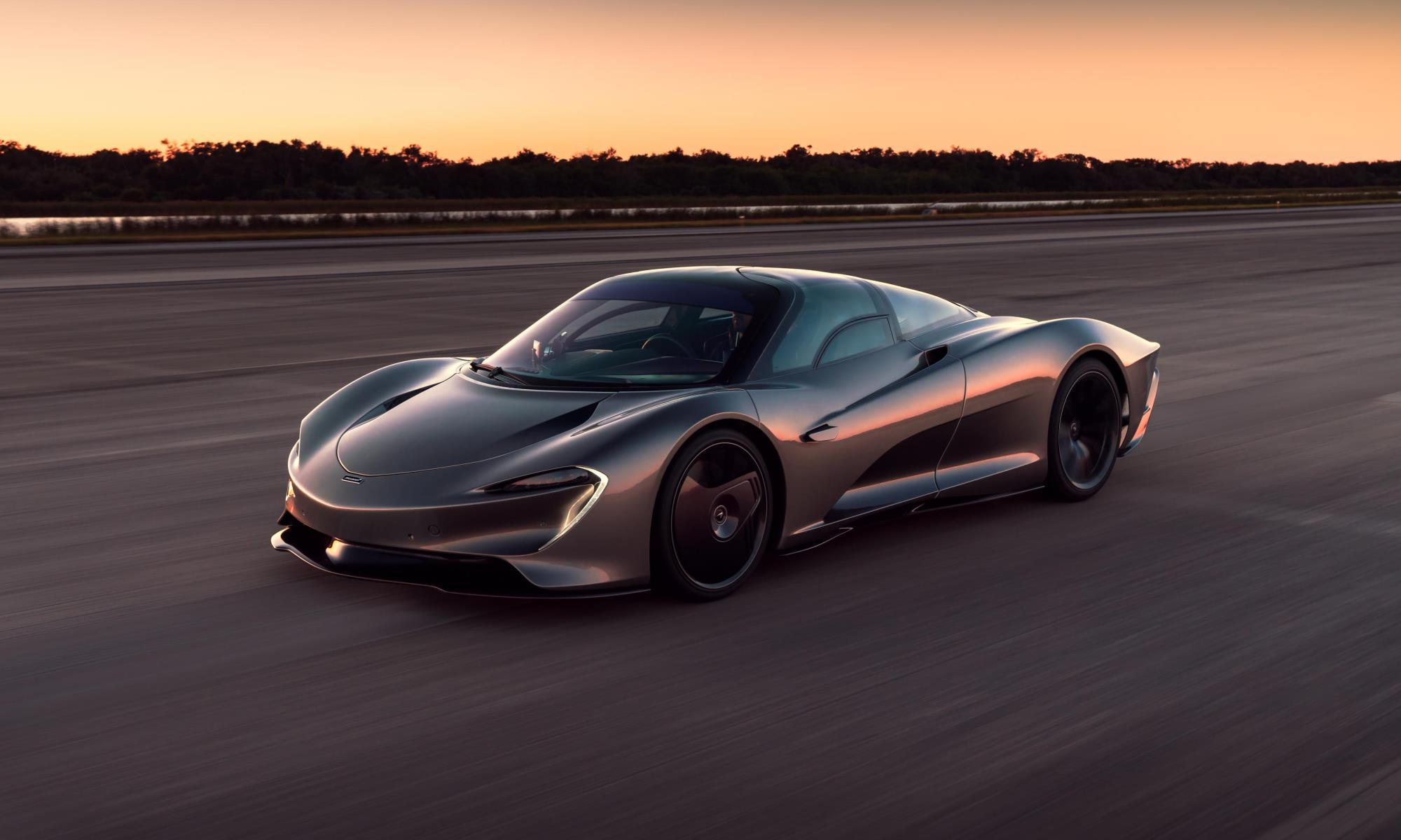 McLaren Speedtail High-speed Testing