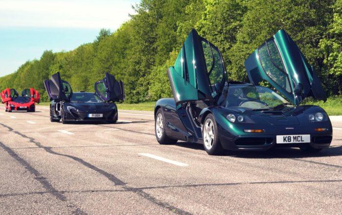 McLaren Ultimate Series Reunion doors open