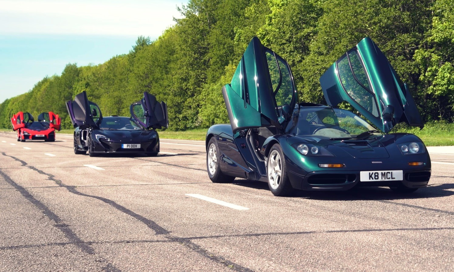 McLaren Ultimate Series Reunion doors open