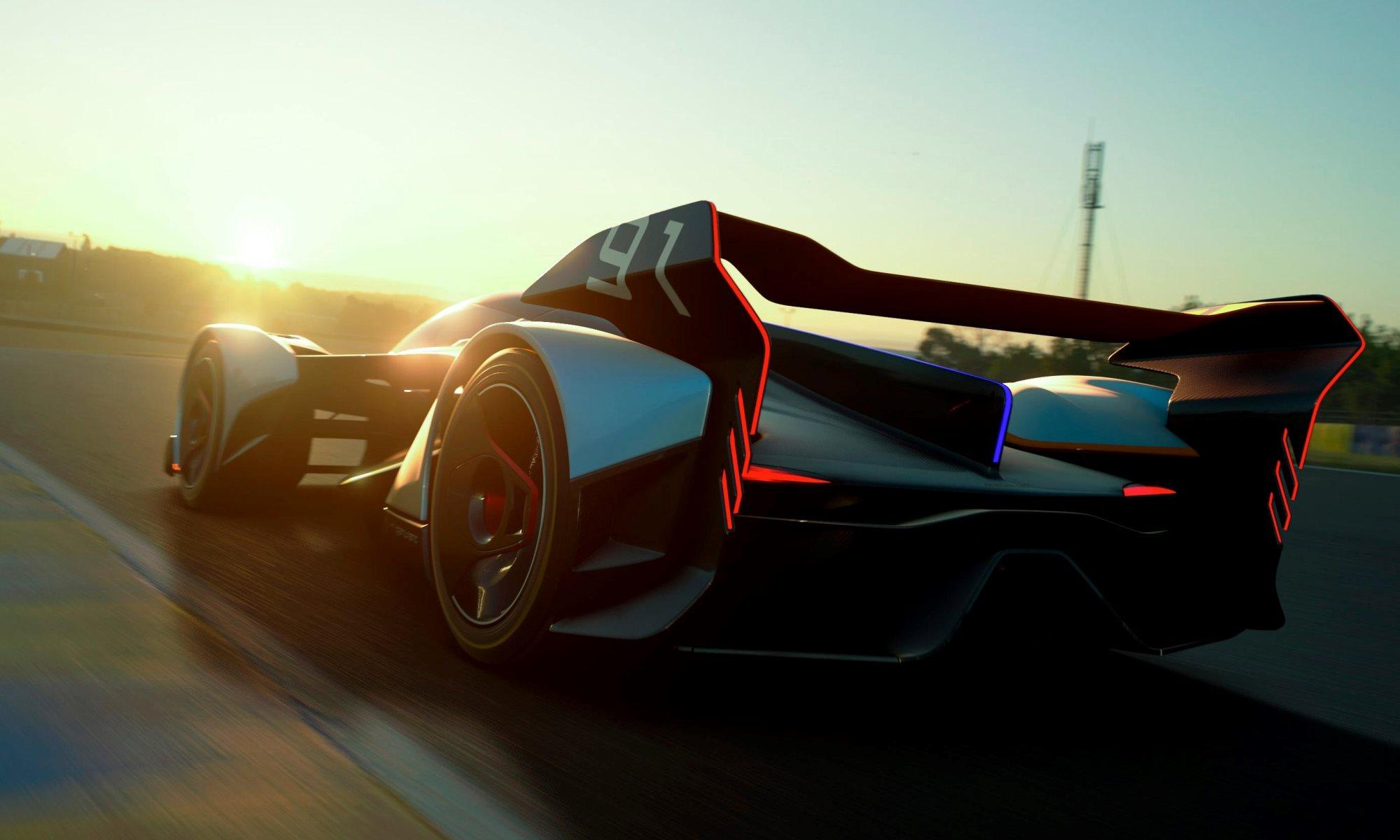 McLaren Vision GT concept rear