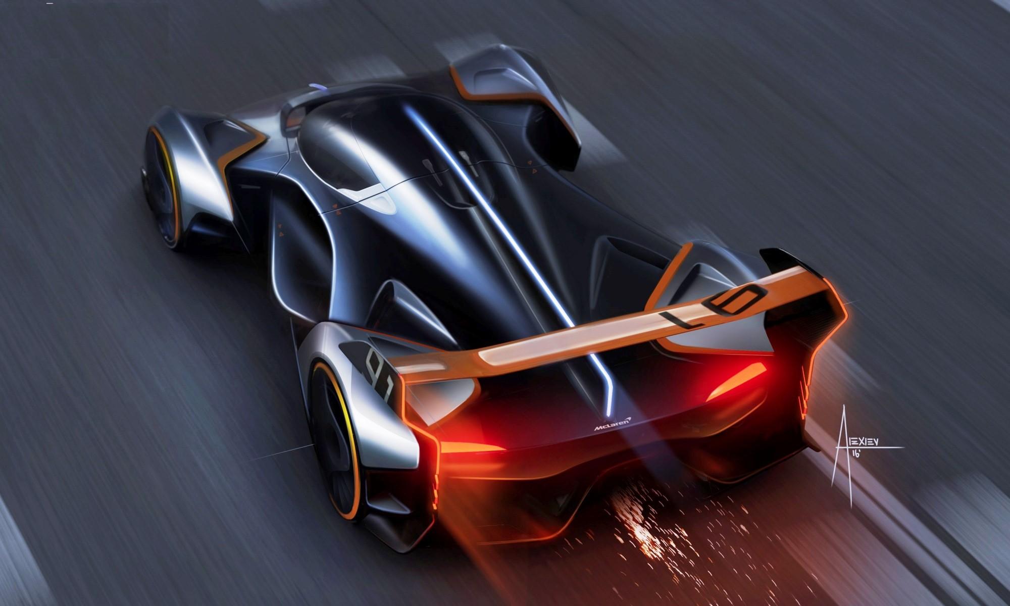 McLaren Vision GT concept top