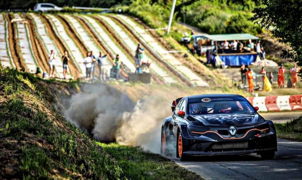 Megane RS RX Hillclimb front