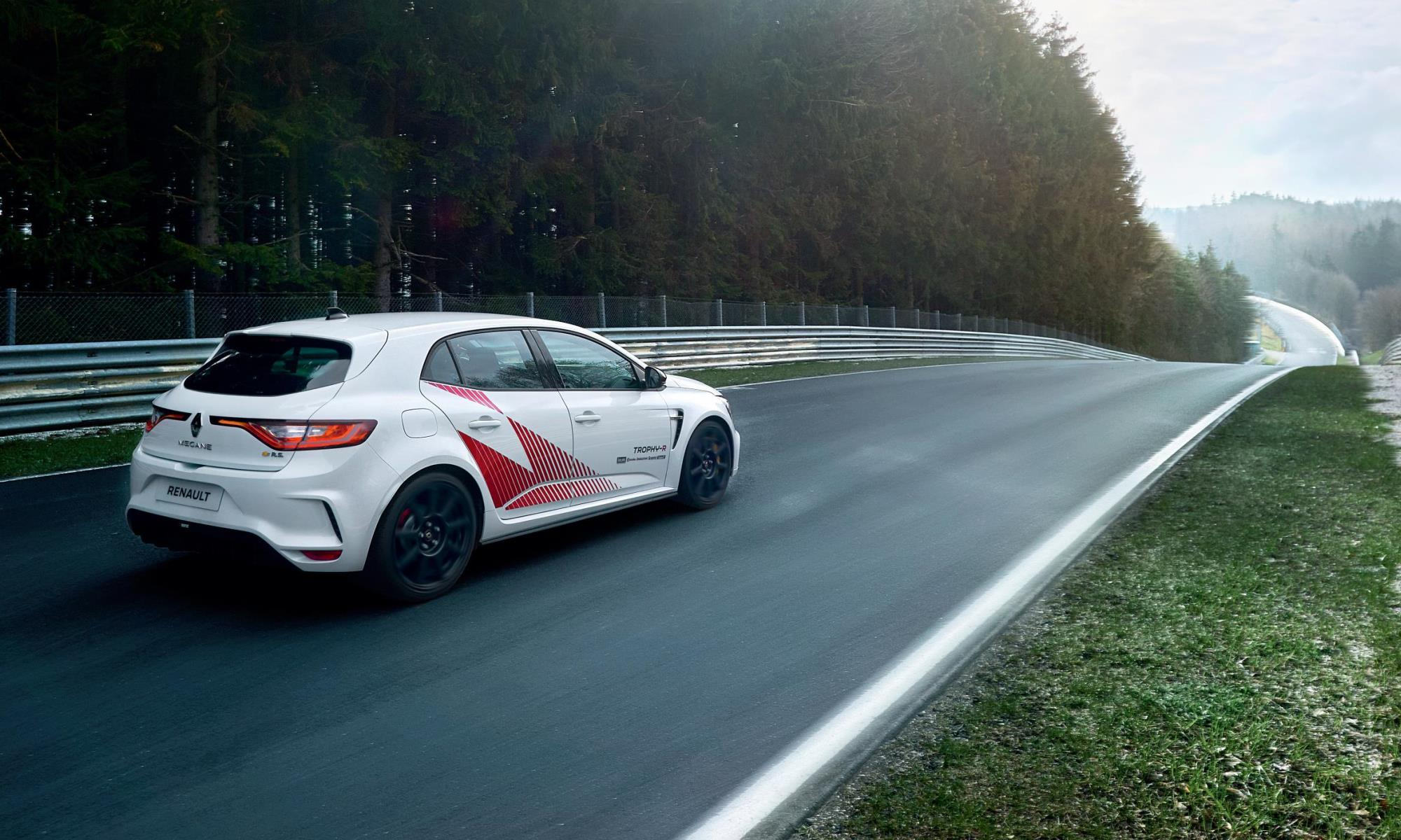 Megane Trophy-R Nurburgring Record rear