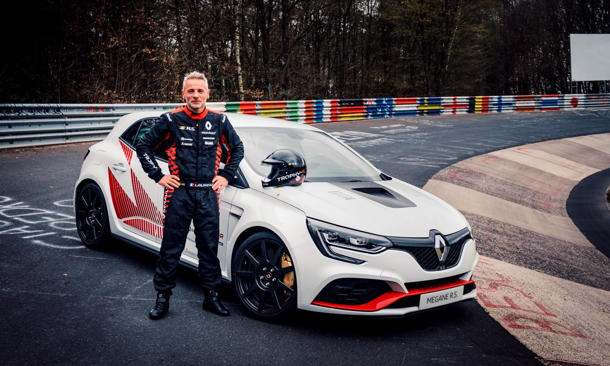 Megane Trophy-R Nurburgring record driver