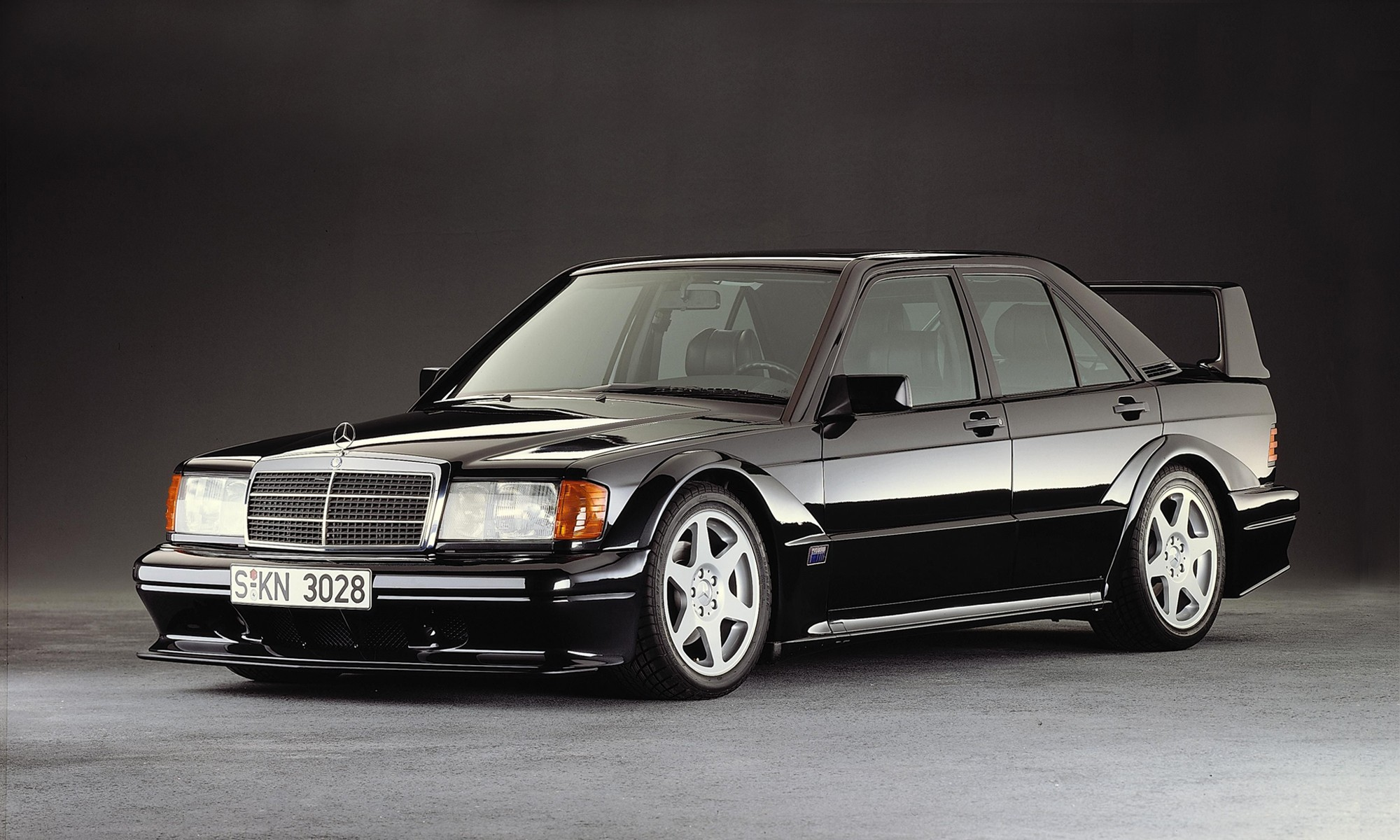 The Mercedes-Benz 190E Evo was a road-going racecar