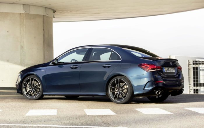 Mercedes-AMG A35 4Matic Saloon rear