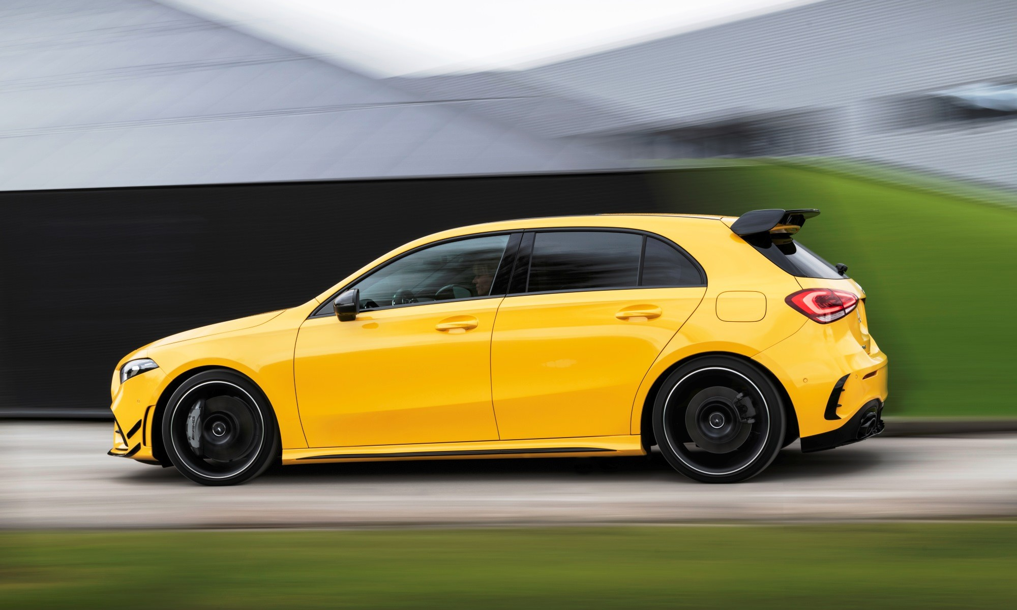 Mercedes-AMG A35 profile