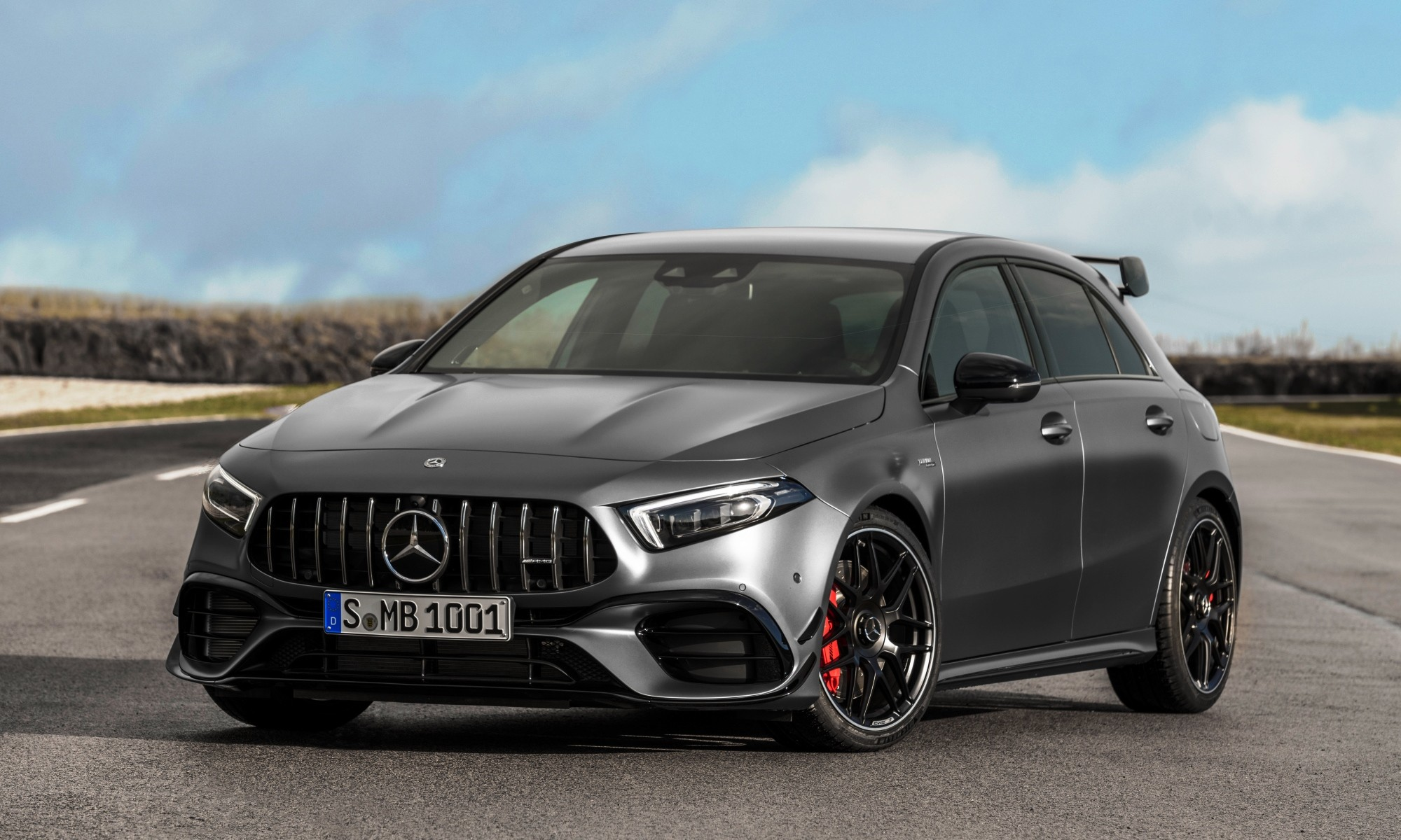 mercedes amg a45 launched at the goodwood festival of speed. Black Bedroom Furniture Sets. Home Design Ideas