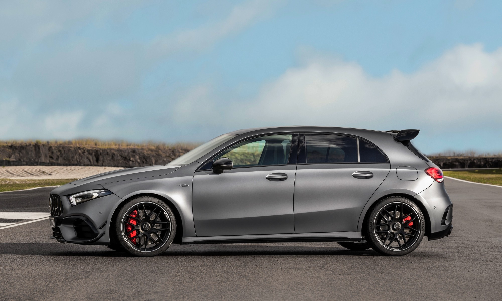 Mercedes-AMG A45 profile