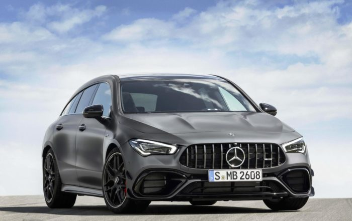 Mercedes-AMG CLA45 Shooting Brake front