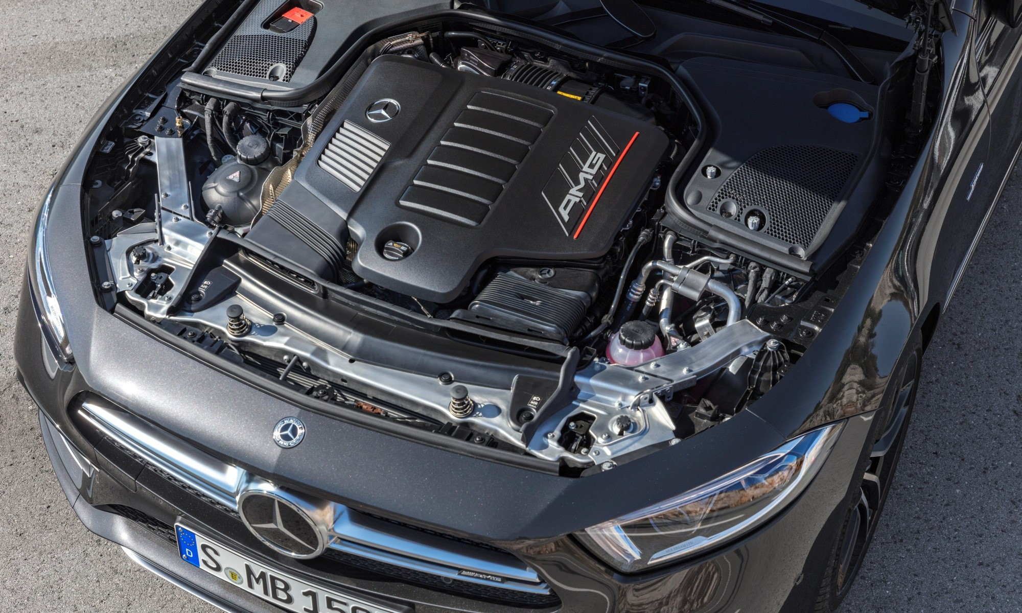 Mercedes-AMG CLS53 engine
