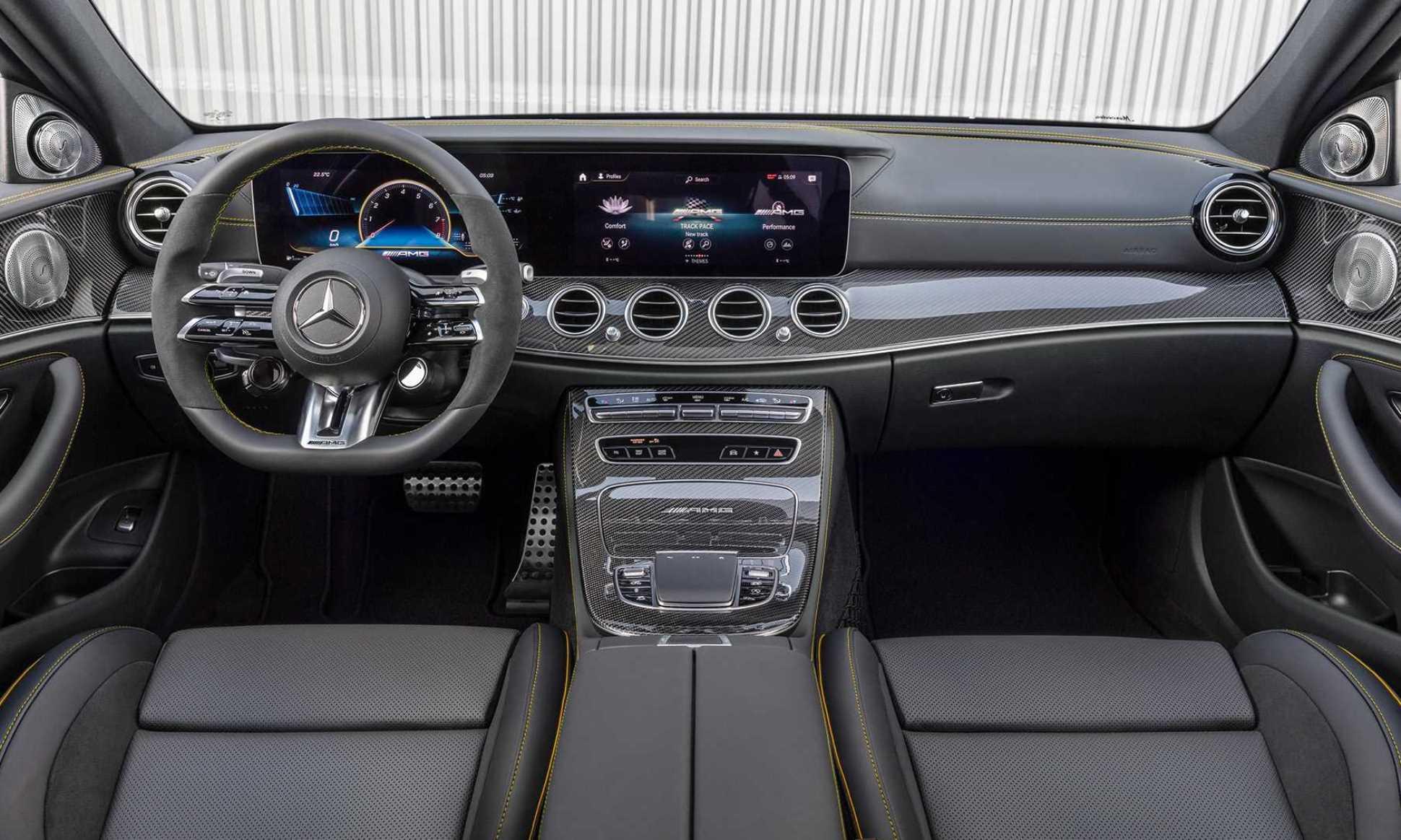 Mercedes-AMG E63S facelift interior