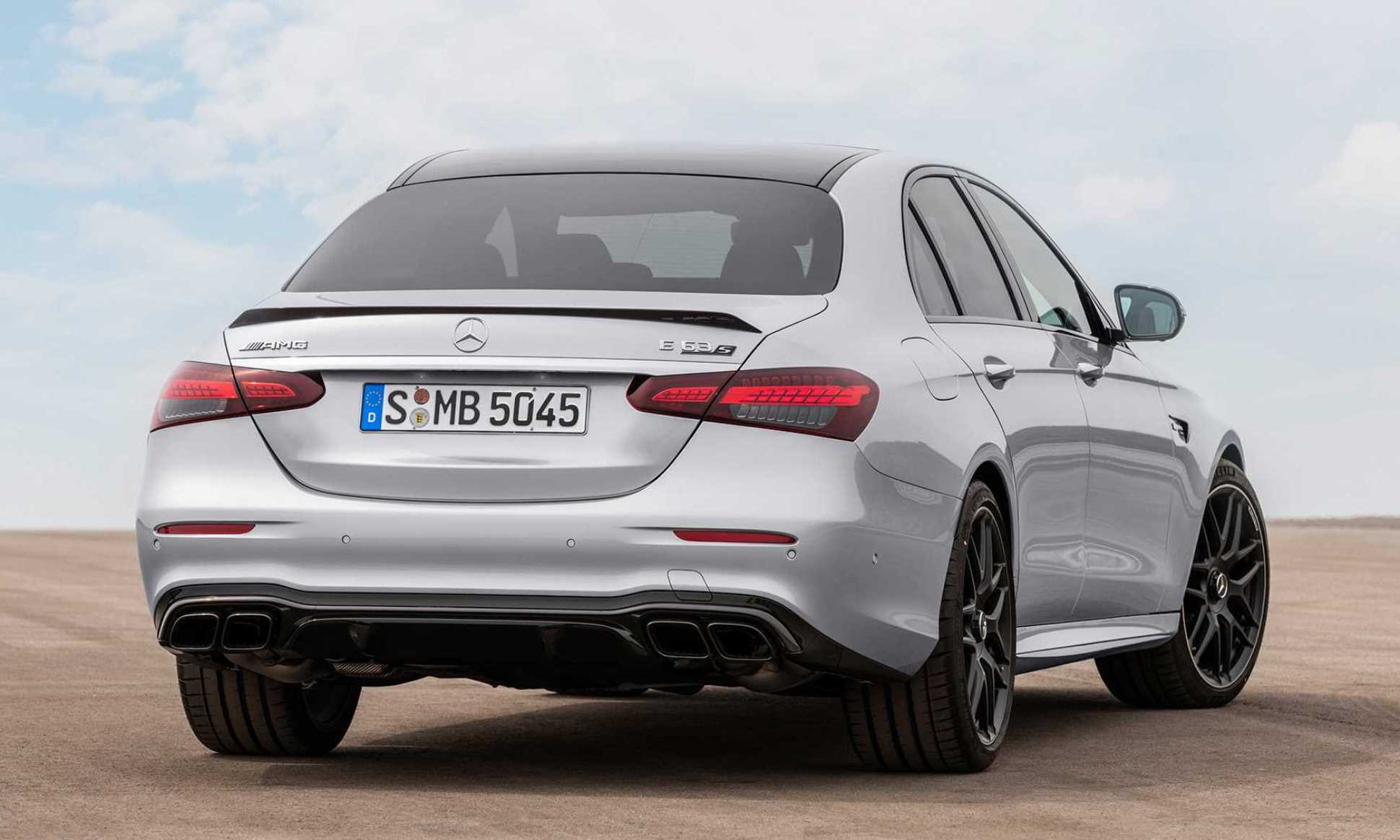 Mercedes-AMG E63S facelift rear