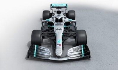 Mercedes-AMG F1 W10 front