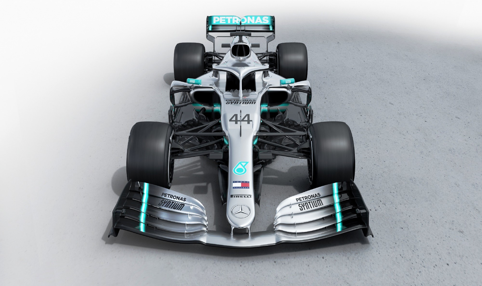 Mercedes-AMG F1 W10 front