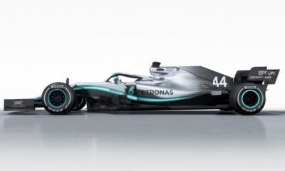 Mercedes-AMG F1 W10 profile
