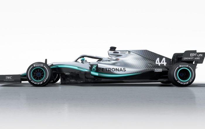 Mercedes-AMG F1 W10 profile