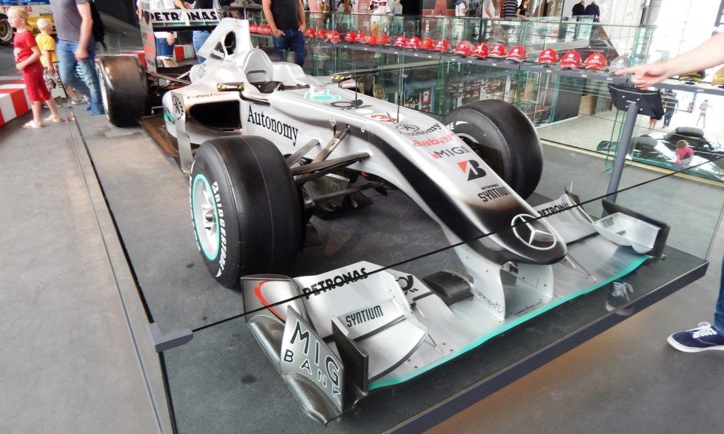 Mercedes-AMG F1 car