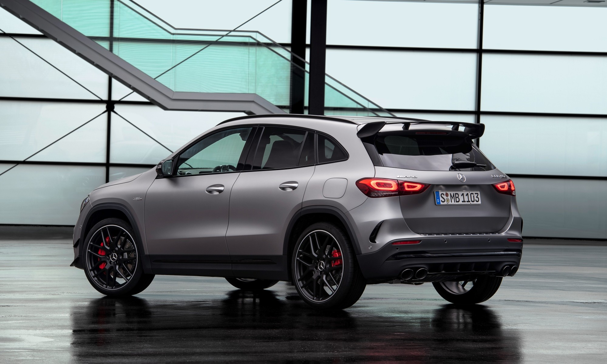 Mercedes-AMG GLA45 rear