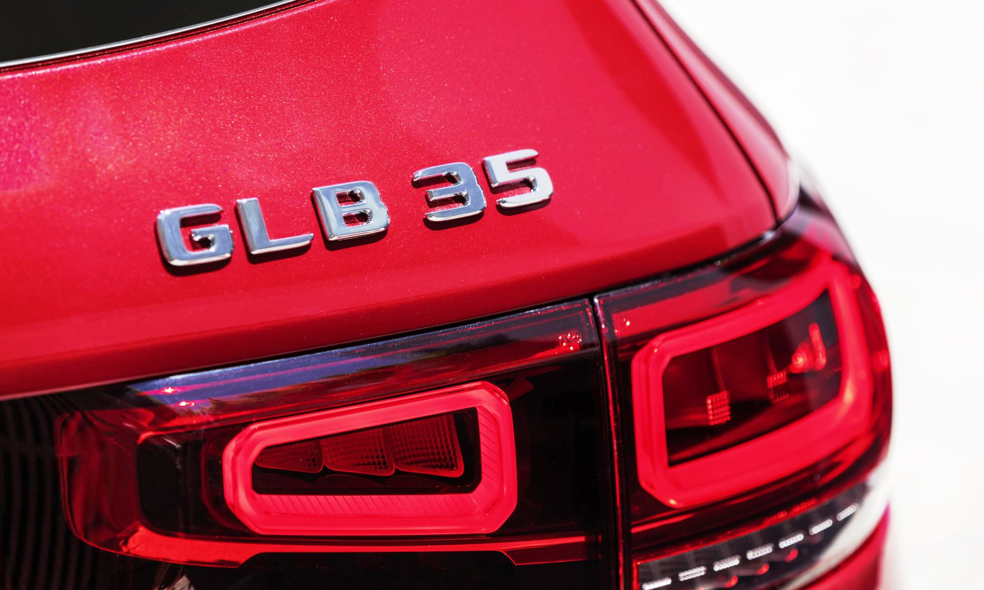 Mercedes-AMG GLB35 badge