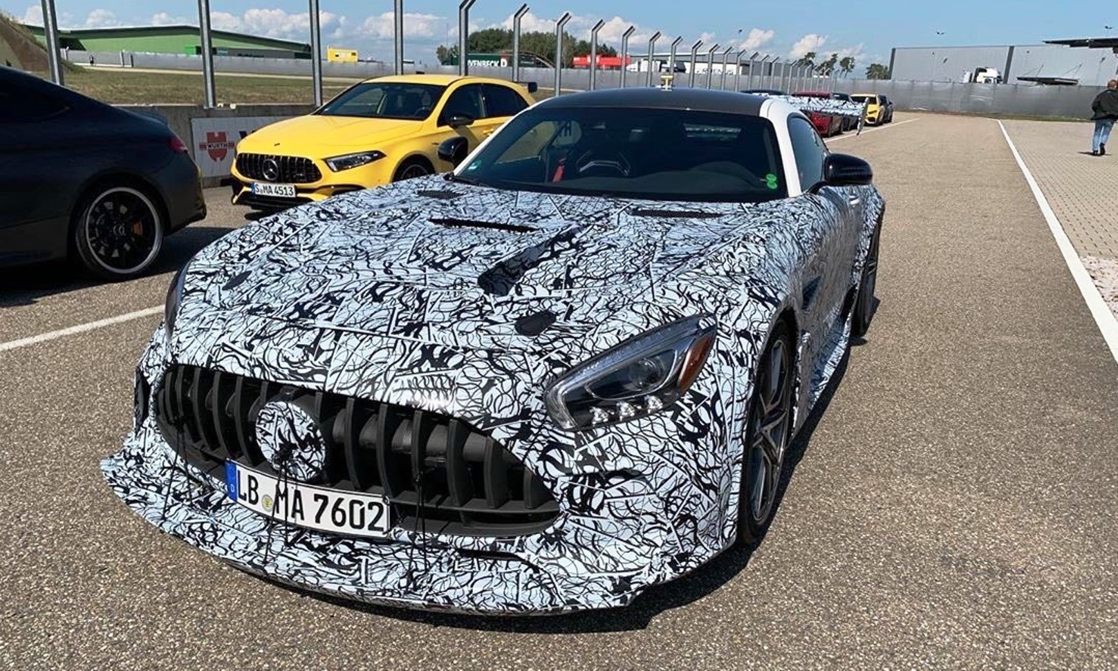 Mercedes-AMG GT Black Series Power Output