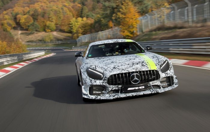 Mercedes-AMG GT R PRO prototype