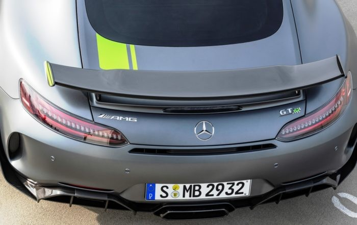 Mercedes-AMG GT R Pro wing