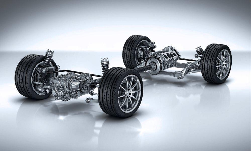 Mercedes-AMG GT S drivetrain
