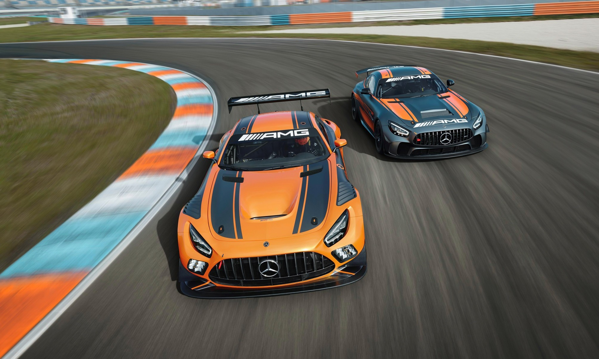 Mercedes-AMG GT4 and GT3