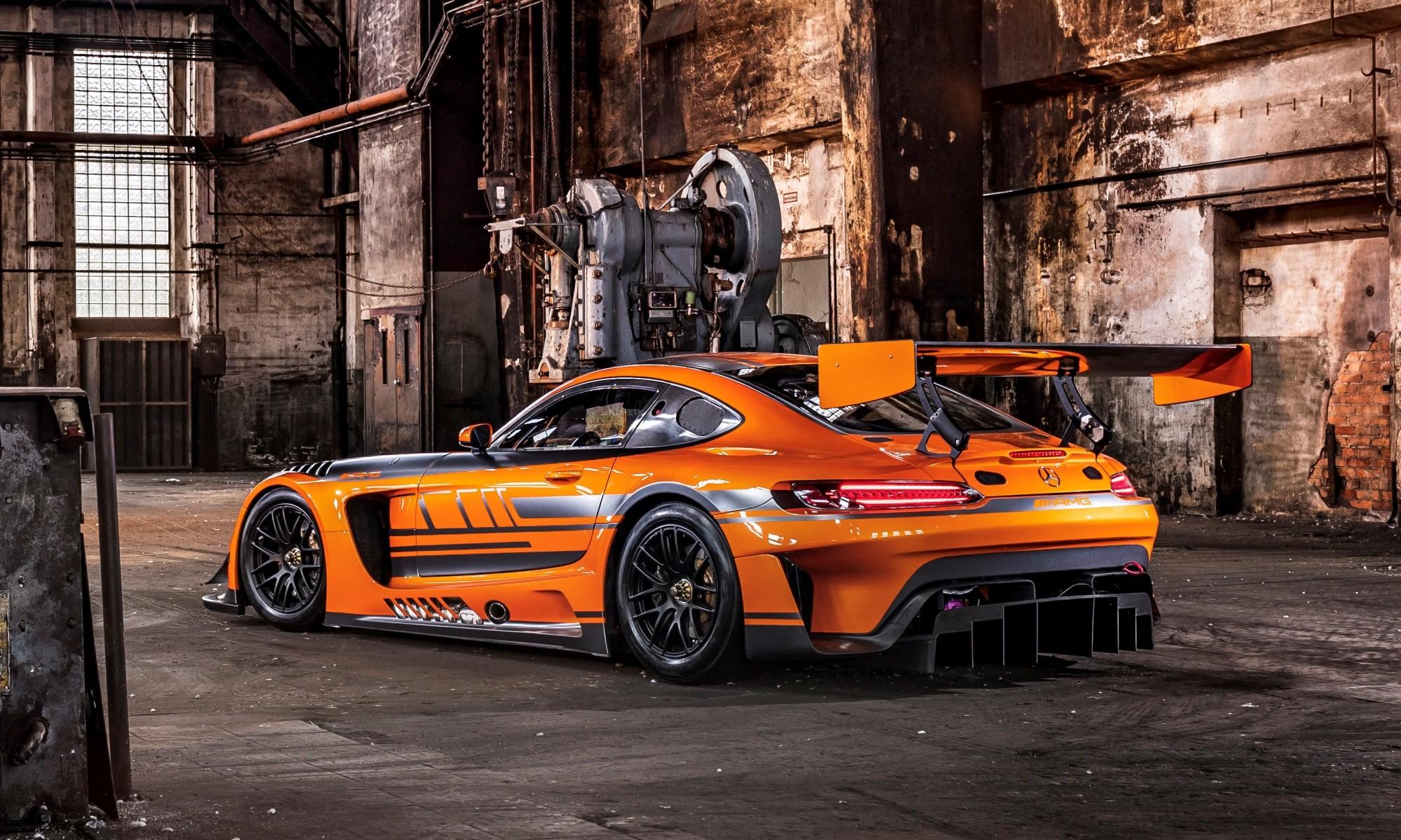 Mercedes-AMG GT3 rear
